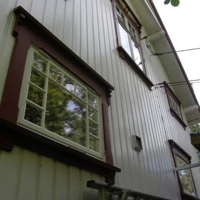 Kortreiste vinduer.