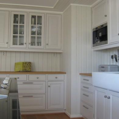 Solfjeldkjøkken med frist fylling og standard profil