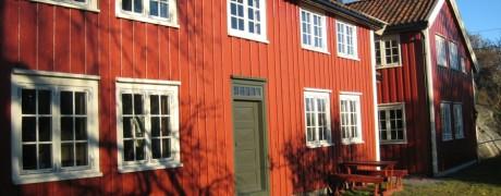 Solfjeldvinduer kobla, fasade.